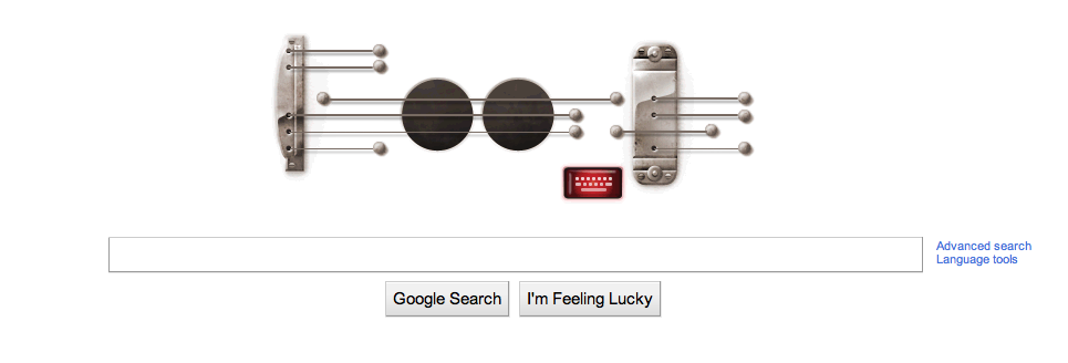 Google's guitar